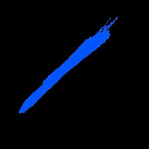Brush blue
