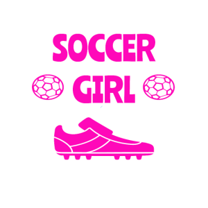 Soccer Girl Fussball Damen Tor Geburtstag Geschenk