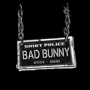 Shirt Polizei - bad bunny