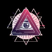 Allsehendes Auge Dreieck Magie