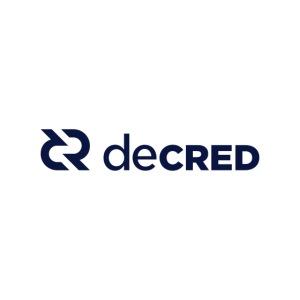 Decred logo horizontal dark
