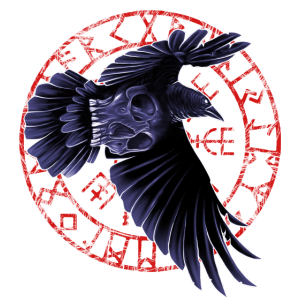 Skull Crow Totenkopf Mann Frau Kind