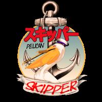 Pelikan Skipper Zigarre Mann Frau Kind