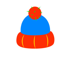 Mütze Wintermütze Bommelmütze