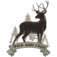 Deer Wild And Free