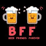 bier Freunde für immer - Bier Friends BBF
