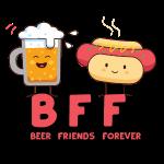 BBF Bier Friends Forever: Bier Freunde & Bratwurst