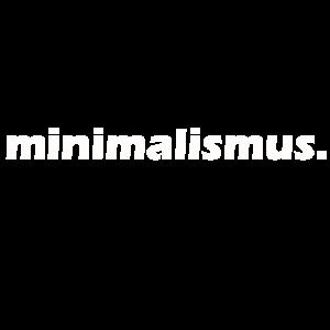 minimalismus Geschenk