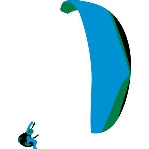 Akrobatik Paragliding