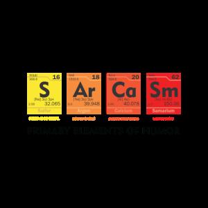 Sarkasmus Wissenschafts-Chemie-Witz