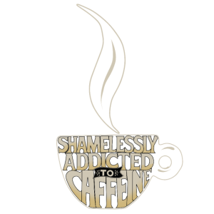 Addicted to Caffeine Büro-Humor Kaffee Addicted to
