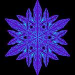 Schneeflocke II