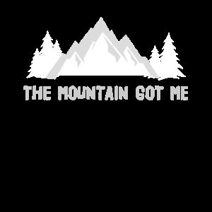 Der Berg hat mich Wandern und Klettern
