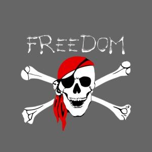 Freiheit Pirat Totenkopf