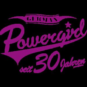 Powergirl seit 30 Jahren