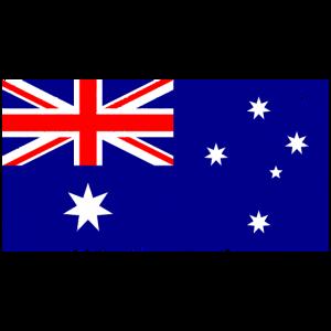 Australien Flagge Vintage-Effekt