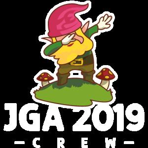 gartenzwerg jga crew 2019