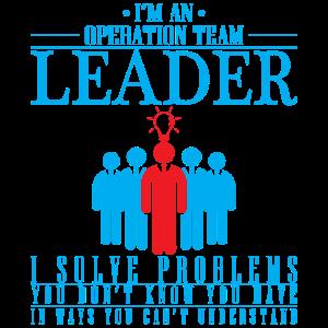 Team Leader / Problemlöser / Geschenk
