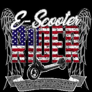 Escooter Electricscooter Rider USA