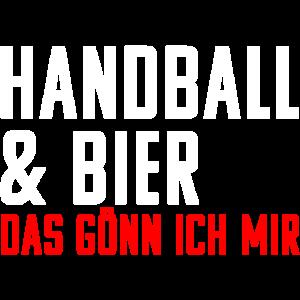 Handball und Bier. Das Gönn Ich Mir! Alk Geschenk