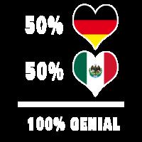 Deutschland und Mexiko Genial / Geschenk