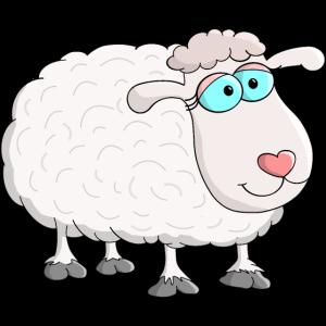 Flauschiges Schaf