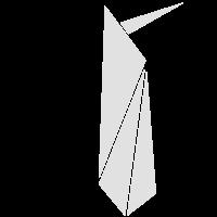 Origami: putziger Pinguin
