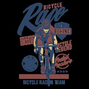 Fahrrad Sport Rennrad Team Shirt