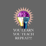 You Learn Svart T-shirt