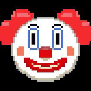 Clown Pixel Art