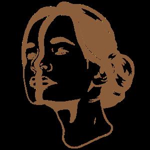 Frau mit zwei Gesichtern Surreal