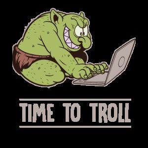 Zeit zum Aergern Troll