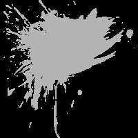 Fleck Design Bürste Farbe Gespritzt grau neu