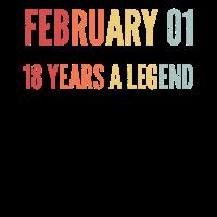 Geburstag Februar 2001 18 Geschenkidee