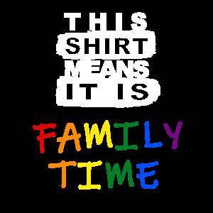 Family Time Shirt