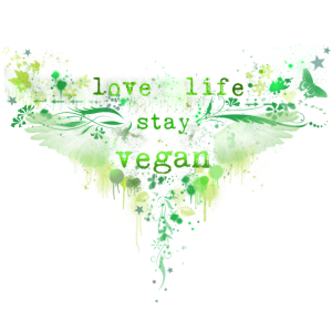Love Life / Stay Vegan [green]