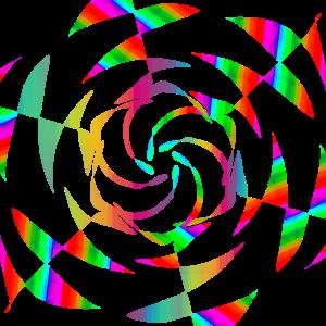 Geschenk Idee Kunst Regenbogen