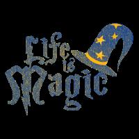 Leben Magisch Sprüche Geschenk