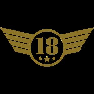 18 Emblem