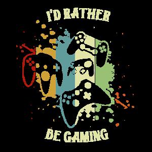 Würde jetzt lieber gamen - Shirt