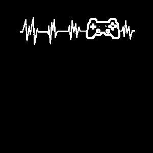 gamer - game heart beat - Shirt