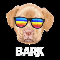 Lustiges Hund mit Sonnenbrille T-Shirt
