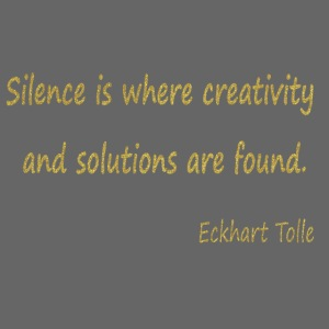 Silence and Creativity