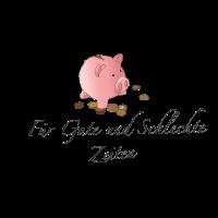 Sparschwein Spruch Slogan Design Bild Text Sparen