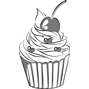 Cupcake 50er Jahre