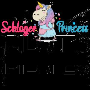 Schlager Einhorn Prinzessin Volksmusik Musik Fan