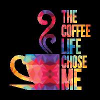 Kaffee TShirt Kaffee Tasse Design Geschenkidee