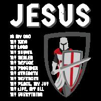 Jesus Geschenk Tempelritter Bibelspruch Pfarrer