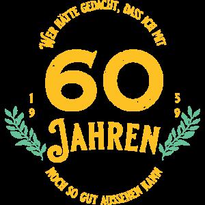 60. Geburtstag 60 Jahre Geschenkidee
