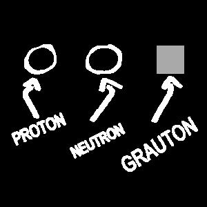 Proton Neutron Grauton - FunShirt